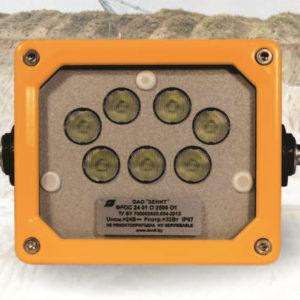 Светодиодная фара рабочего освещения ФРОС 24 01 O 2500 О1 ТУ BY 700002620.054-2013